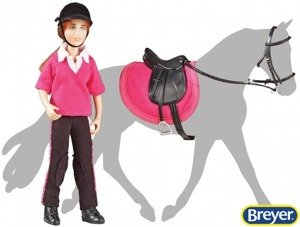 61068 Jokejka Abigail English Rider z Siodłem Breyer