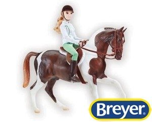 1787 Breyer Traditional Let's Go Riding - English