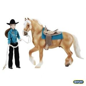 1788 Breyer Traditional Let's Go Riding - Western